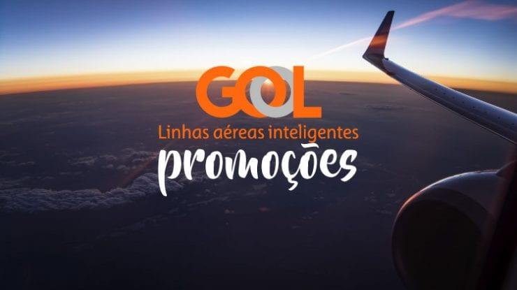 Promoção Gol Passagem aéreas com até 35% OFF