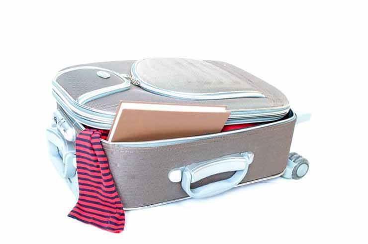 O que pode levar na bagagem?