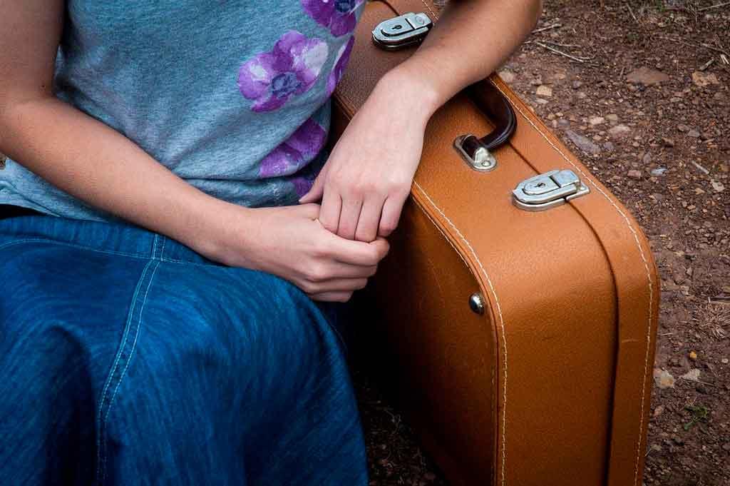 Como viajar só com bagagem de mão leve e flexivel
