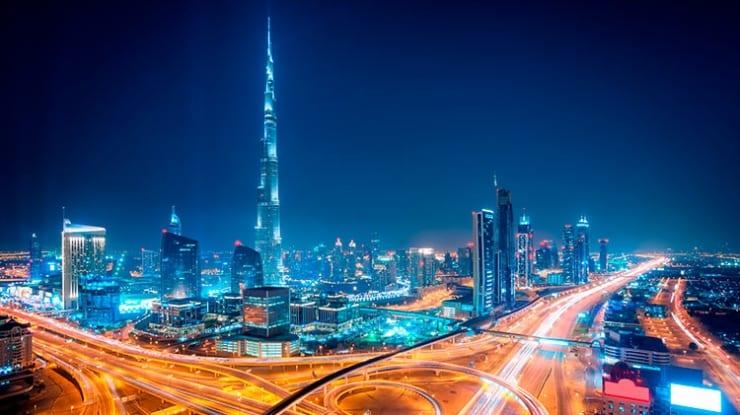 Dubai, nos Emirados Árabes