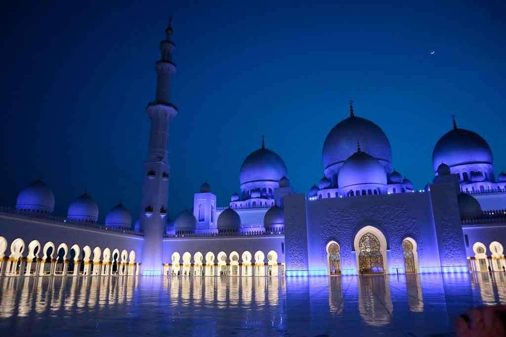 Dubai nos emirados arabe Abu Dhabi