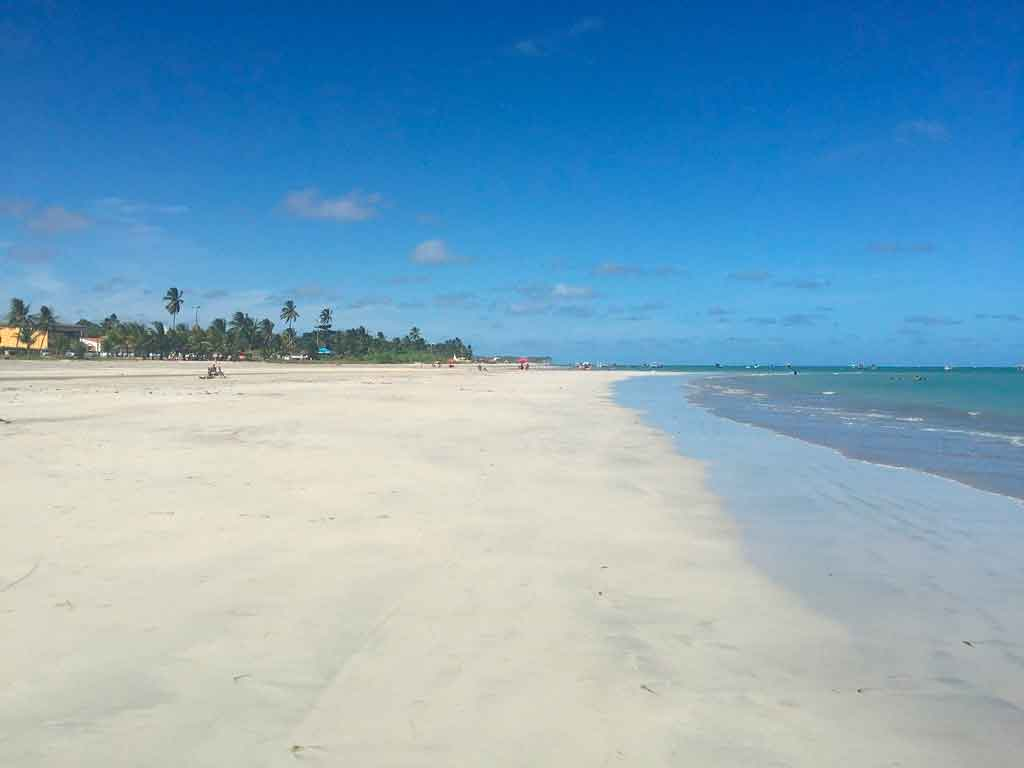 Praias de Maceió costa brava