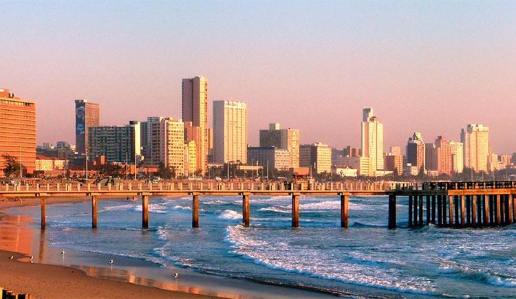 Durban é um destino incrível para conhecer na África do Sul