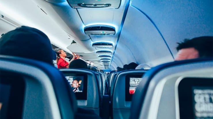 Qual é a melhor companhia aérea em entretenimento?