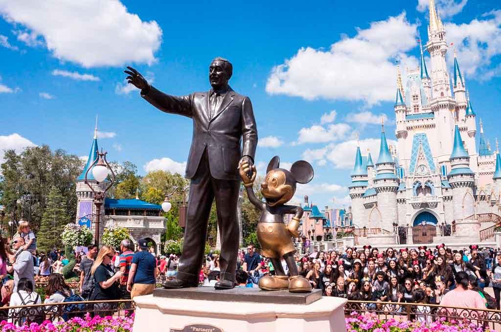 Passagem para a Disney melhor época