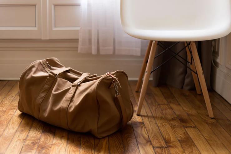 viagem de avião mala bagagem