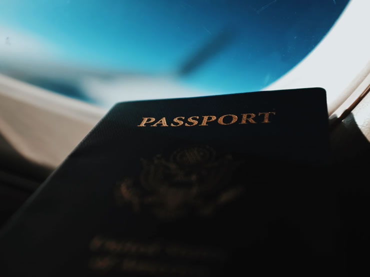viagem de avião documentos cartão de embarque