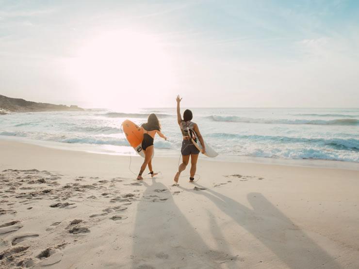 melhores praias do Brasil surfar