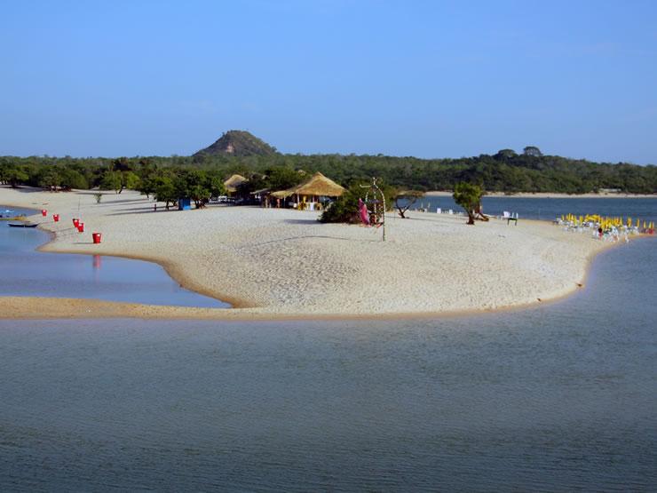 melhores praias do Brasil norte