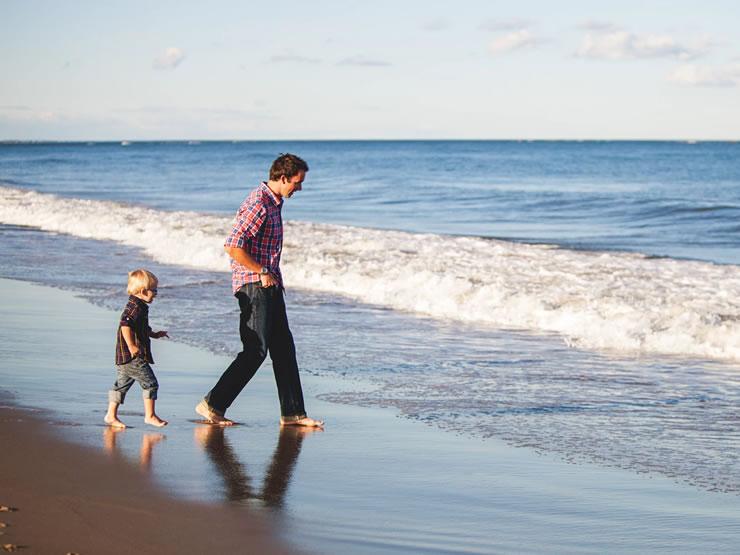 melhores praias do Brasil com a familia
