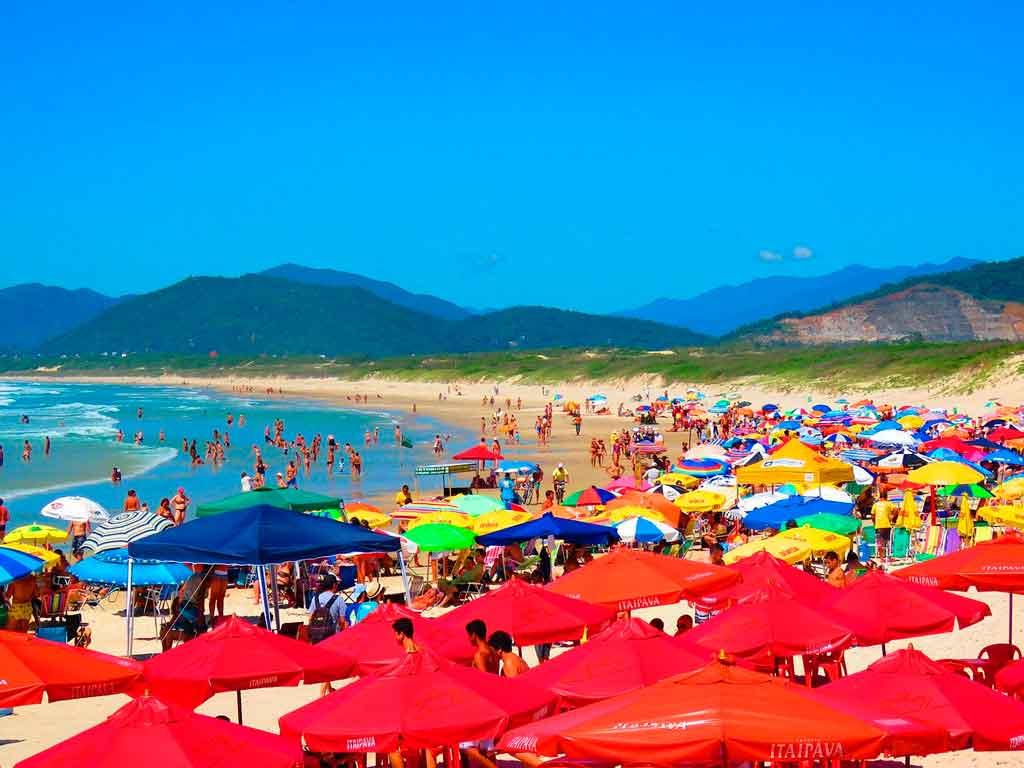 Melhores praias do Brasil praia da joaquina