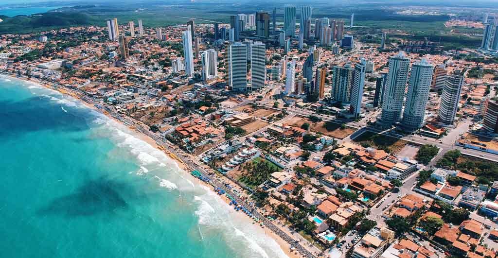 Melhores praias do Brasil da Ponta Negra