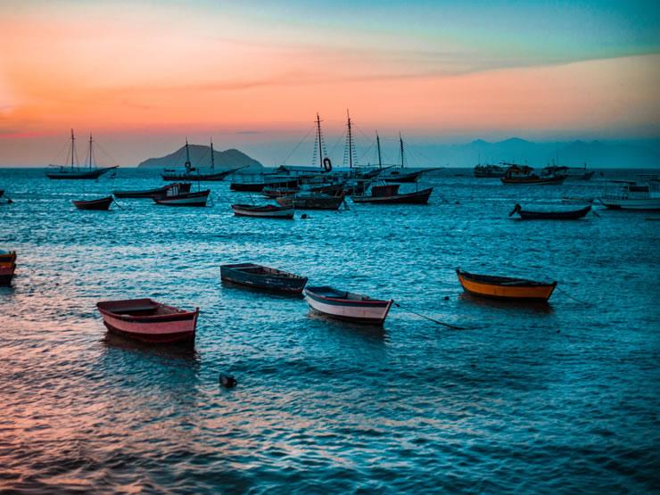 melhores praias do Brasil sudeste