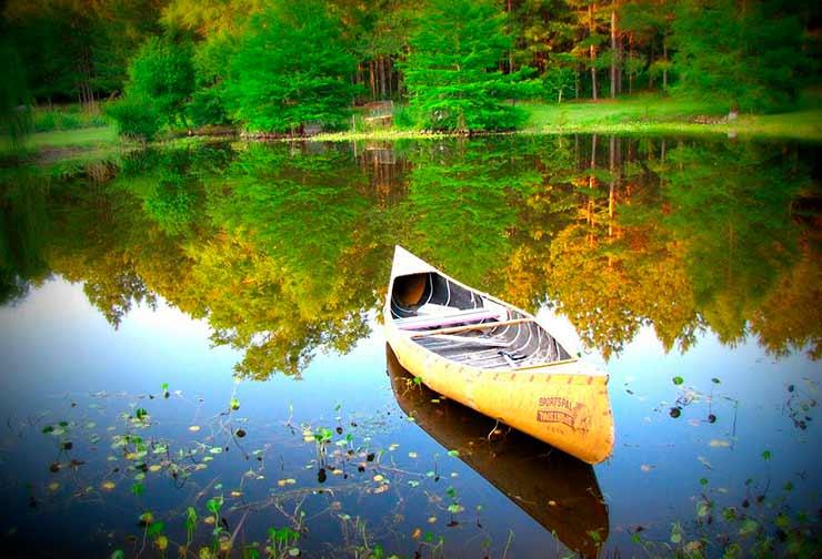 Canoagem no Pantanal Norte e Sul