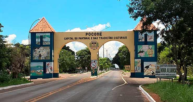 Em que cidade começa o turismo no Pantanal