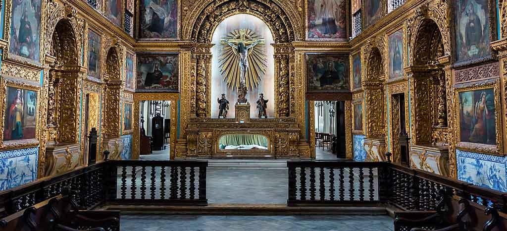 O que fazer em Recife Capela Dourada