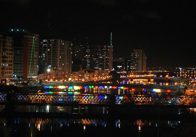 O que fazer em Recife à noite
