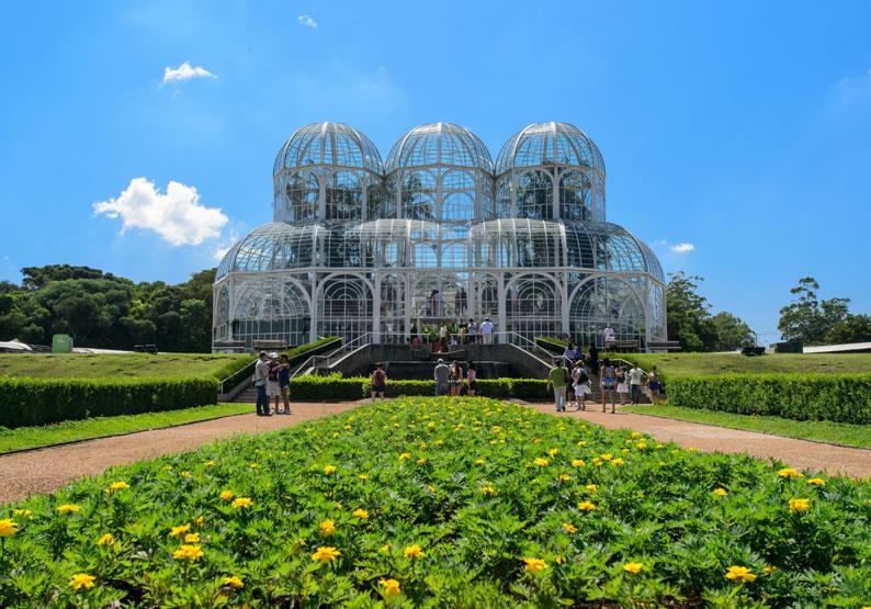 passeio turistico em curitiba jardim botanico