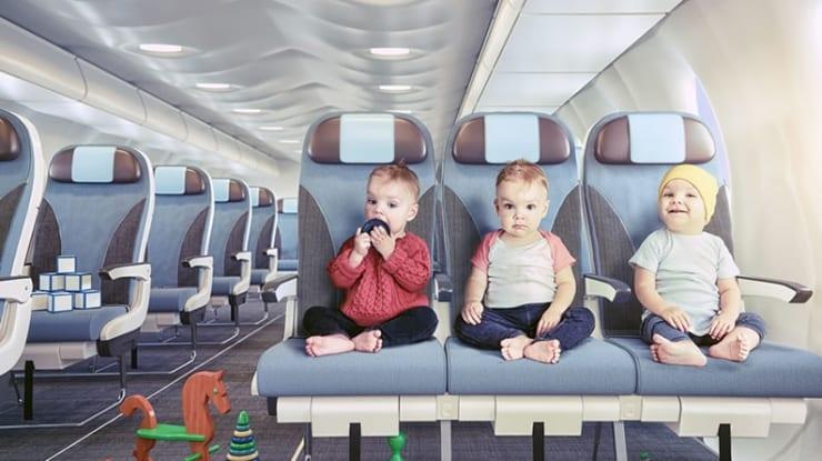 Viajar com bebê: dicas valiosas para viajar de avião com filhos pequenos