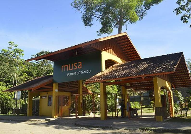 Ponto turístico Museu da Amazônia (MUSA)