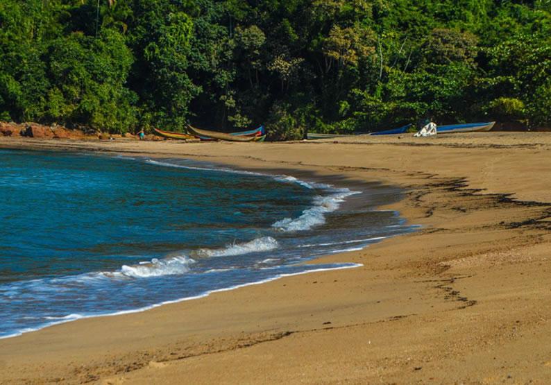 praia em vitoria no Espirito Santo