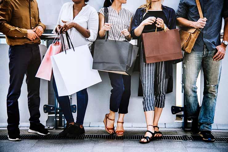fazer compras em Nova York