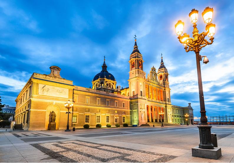 Madri Catedral de la Almudena