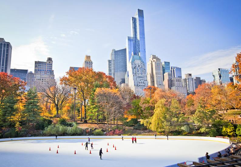 Lugares frios para viajar nova york