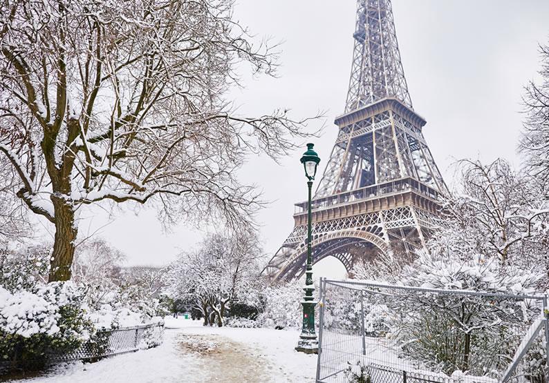 Lugares frios viagem paris