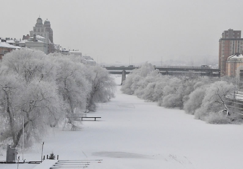 Lugares frios para viajar