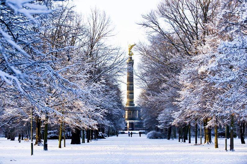 Lugares frios para viajar berlim
