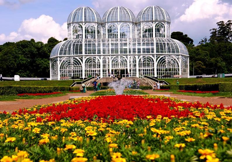 Parques em Curitiba 1. Jardim Botânico de Curitiba