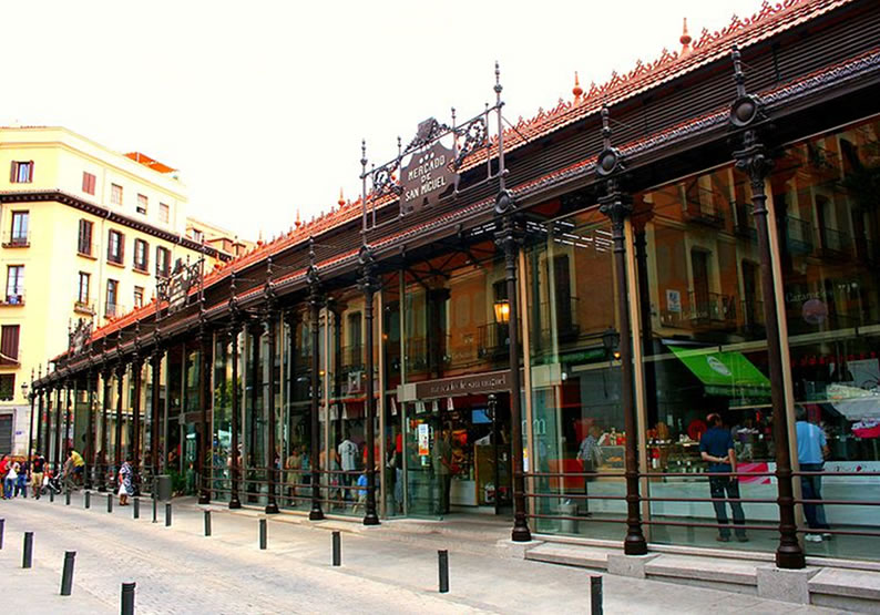 Pontos Turísticos Madrid Mercado de San Miguel