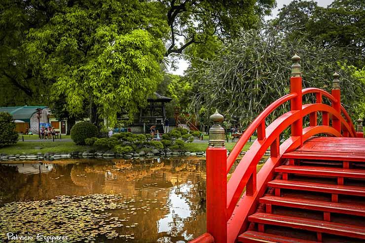 Viagem Buenos Aires Jardim japonês