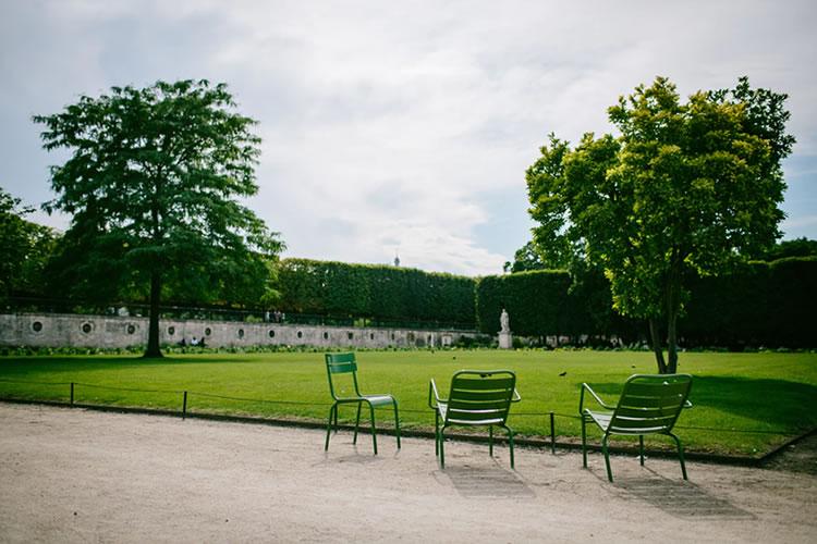 viagem para paris Jardim das Tulherias