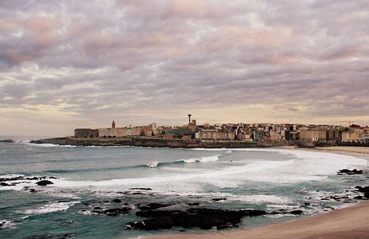 Turismo na Espanha Corunha