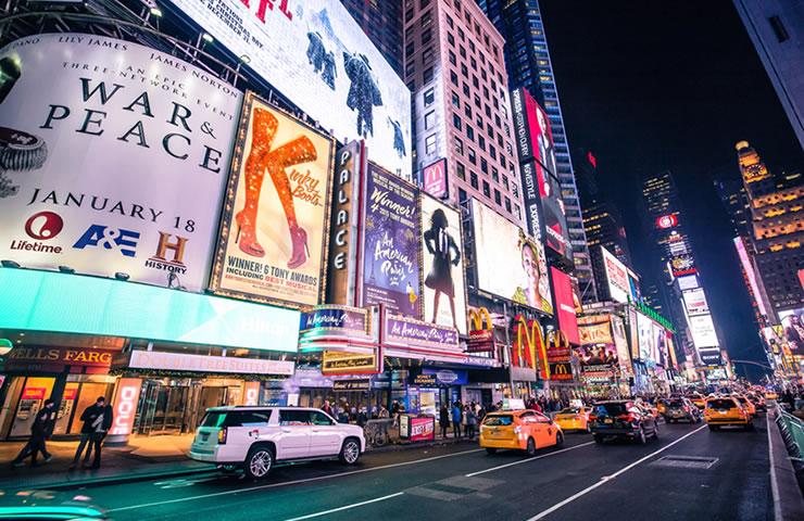 pontos turisticos de nova york Times Square
