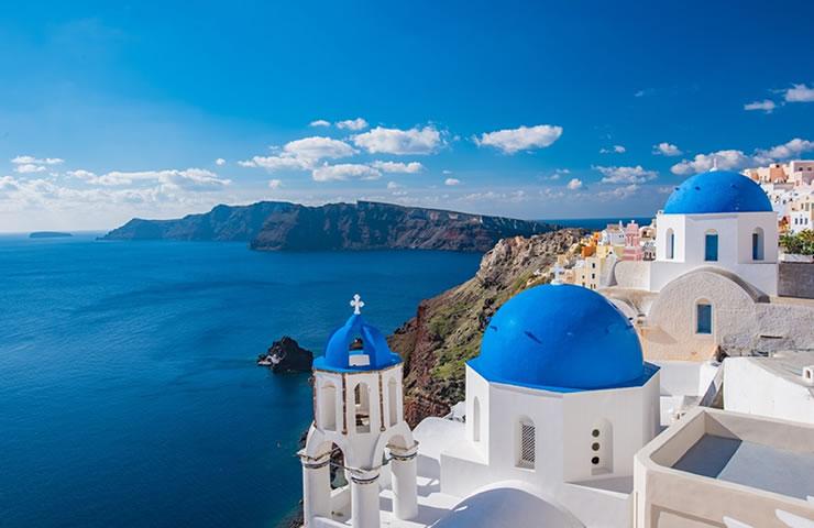 Tour pela Europa Santorini Grécia