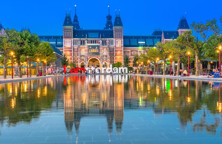 Tour pela Europa Amsterdam Holanda