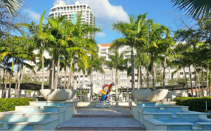 turismo e compras em Miami