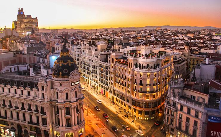 Destinos Internacionais Espanha