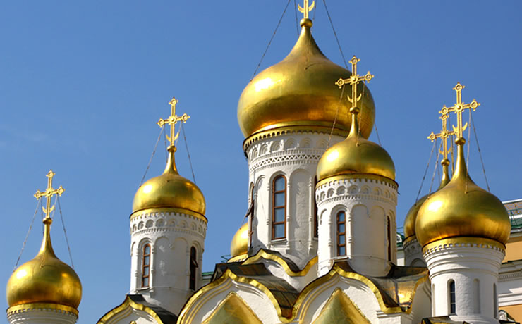 Catedral da Assunção em Moscou