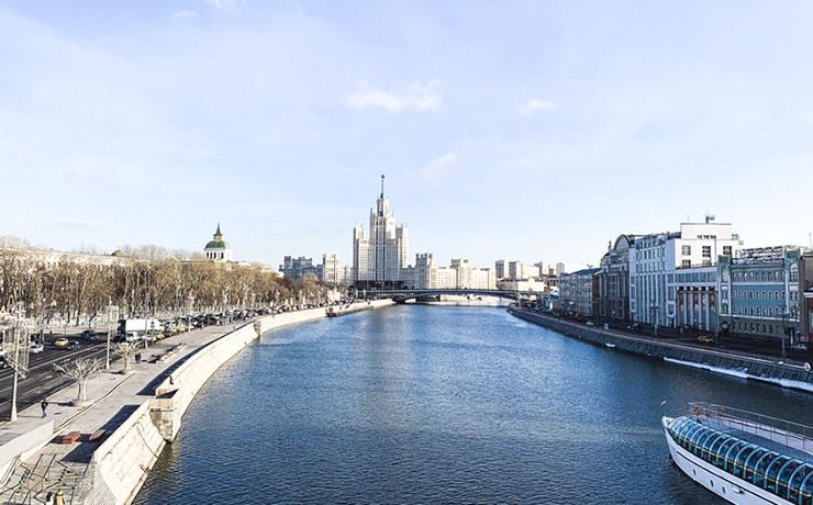 O que fazer em Moscou Parque Zaryadye