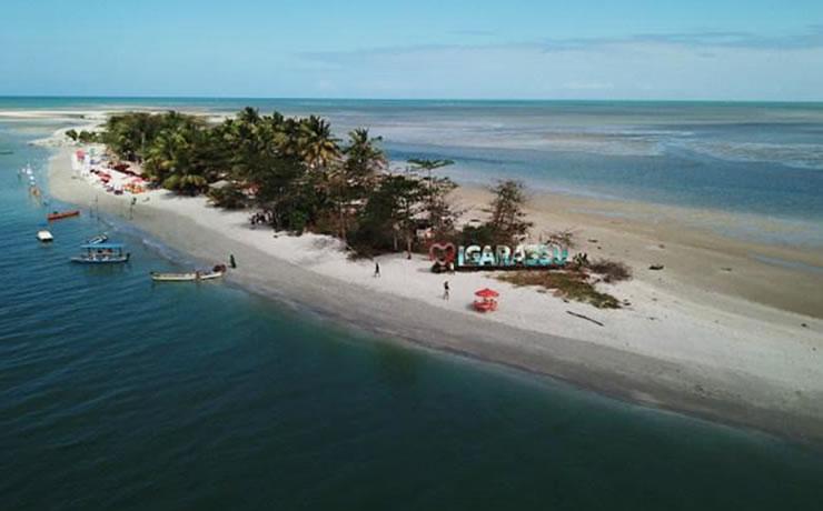 pontos turísticos de pernambuco Ilha de Itamaracá- Coroa do Avião