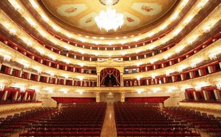 O que fazer em Moscou Teatro Bolshoi em Moscou