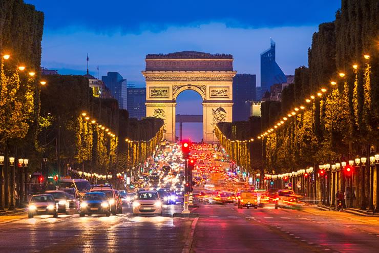 Roteiro Paris frança