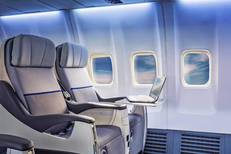 classe de voo primeira classe