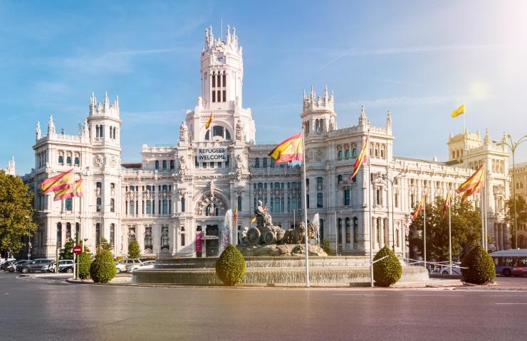 Palácio de Cibeles Madrid