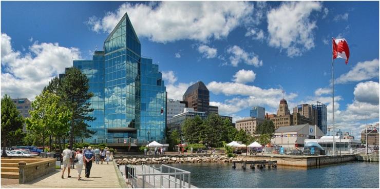 Cidades turísticas do Halifax Canadá