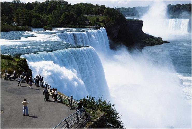 Cidades turísticas do Niagara Falls Canadá